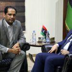 أزمة الجنوب الليبي على طاولة مباحثات معيتيق والنائب الأول لرئيس المجلس الأعلى للدولة