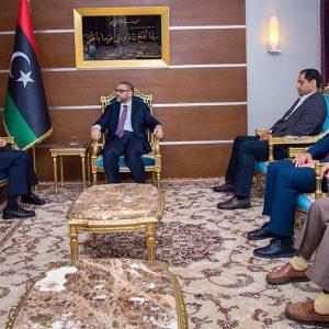 المشري يلتقي السفير التركي لدى ليبيا ويناقش معه الأزمة السياسية وسبل معالجتها