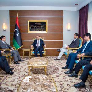 رئيس المجلس الأعلى للدولة يلتقي السفير الصيني لدى ليبيا