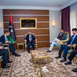 رئيس المجلس الأعلى للدولة يلتقي السفير الألماني لدى ليبيا