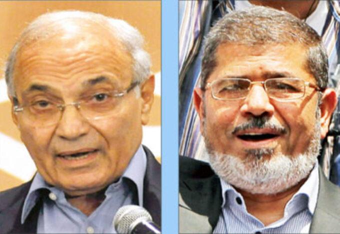 المرشح الرئيس: مرسي أم شفيق للرئاسة؟