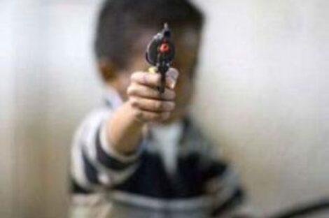 مسدس اللعبة: اضرب السيدة عائشة