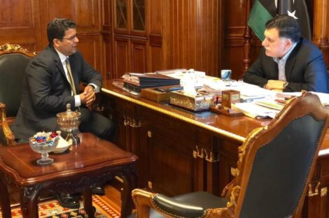 السراج والسفير الليبي في إيطاليا