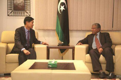 المغربي وسفير كوريا