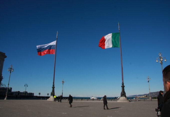 ايطاليا وروسيا