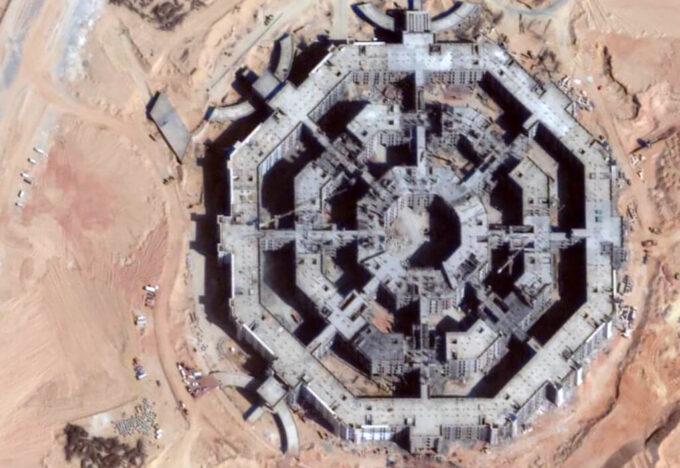 الأوكتاغون وزارة الدفاع المصرية الجديدة