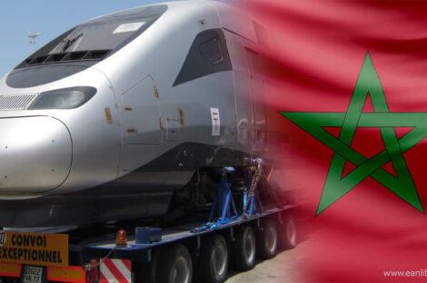 قطار المغرب