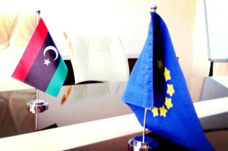الاتحاد الاوروبي ليبيا