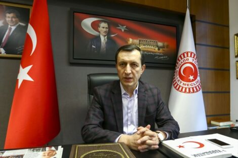 المبعوث التركي إلى ليبيا أمر الله إيشلر