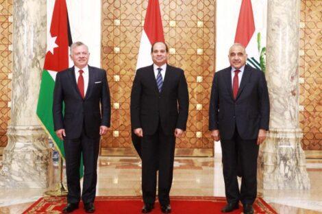مصر والعراق والأردن