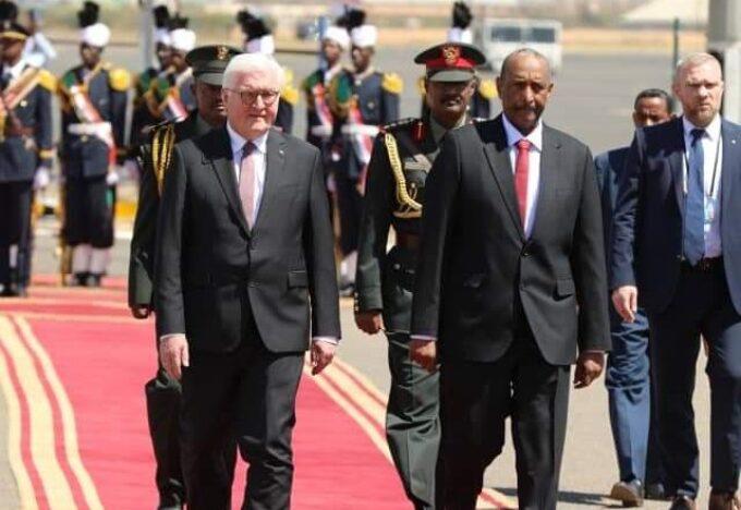 السودان.. الرئيس الألماني يصل إلى العاصمة الخرطوم