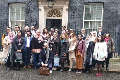 صحفيون من أنحاء الشرق الأوسط يُشاركون في الملتقى الثاني للمنبر البريطاني للمؤثرين العرب