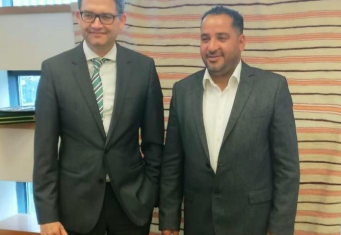 اخلية «الوفاق» تبحث مع السفارة الألمانية ملف الهجرة غير الشرعية
