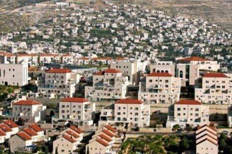 سلطات الاحتلال تُقرر بناء 1800 وحدة استيطانية في الضفة الغربية