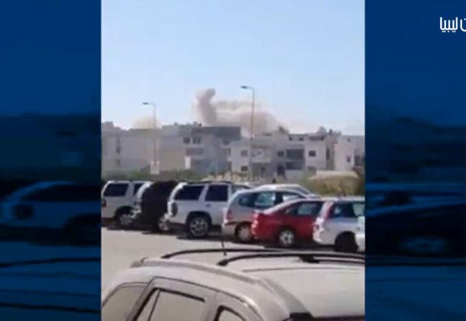 عناصر حفتر تقصف بصواريخ الغراد منطقة أبوسليم السكنية بالعاصمة طرابلس