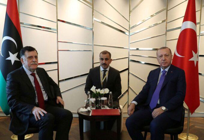 السراج.. تركيا استجابت لنا ضد هجوم قوات حفتر