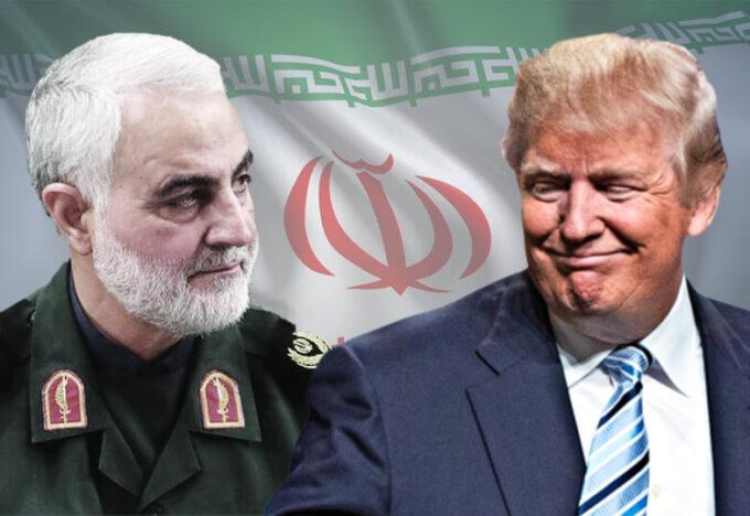 قاسم سليماني - ترامب