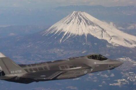 مقاتلة يابانية من طراز إف-35