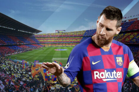 ميسي يرحل عن برشلونة