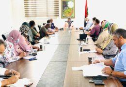 وزارة الثقافة تبحث دعم النشاط الثقافي وتنمية الخطاب المعرفي