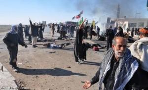 23 شخصا في هجوم انتحاري بالعراق