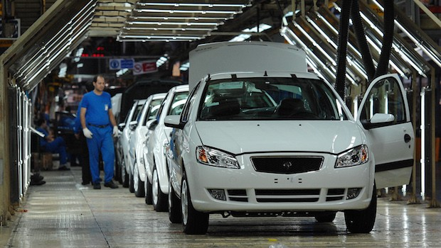 Iranian Carmaker Khodro Expects Improvement From Geneva Easing Of Sanctions