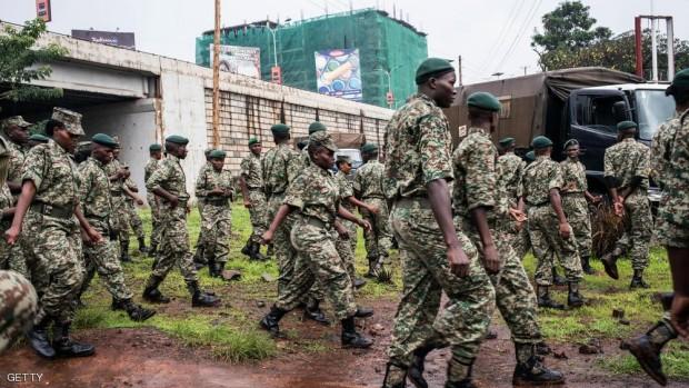 قوات أمن كينية في نيروبي - أرشيفية