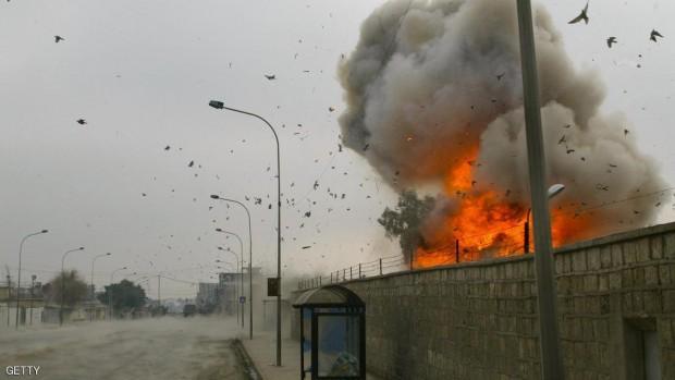 صورة أرشيفية لهجوم سابق في الموصل