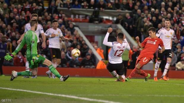 فيرمينو سجل الهدف الثاني لليفربول