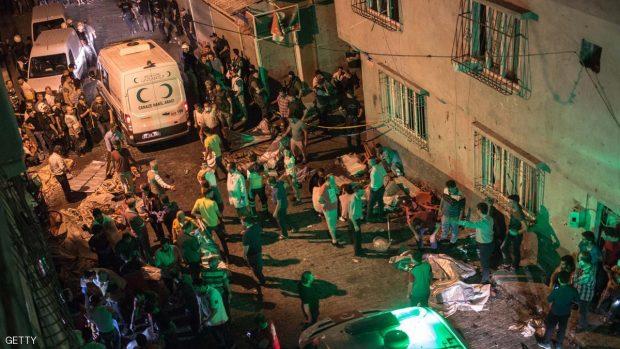 هجوم غازي عنتاب استهدف حفل زفاف