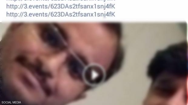 أحد المستخدمين الذين وقعوا في فخ الفيديو المزيف
