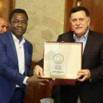 «السرّاج» يتلقى رسالة من رئيس الفيفا حول رفع الحظر الدولي عن ليبيا