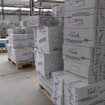 لجنة الأزمة بالقطاع الصحي في المنطقة الجنوبية تُنهي توزيع كميات الأدوية التي وفرتها وزارة الصحة بحكومة الوفاق الوطني، والتي أشرف على توزيعها العاملين بجهاز الإمداد فرع فزان.