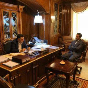 «السرّاج» يجتمع مع رئيس مفوضية الانتخابات