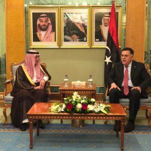 «السرّاج» يستقبل وزير الخارجية السعودي