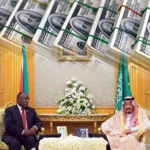 عشرة مليارات دولار من السعودية إلى جنوب أفريقيا