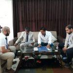 توقيع اتفاقية تعاون ببن الأكاديمية العربية الأفريقية للدراسات الطبية ومركز طبرق الطبي