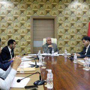اللجنة العليا لمتابعة شؤون المهجرين تناقش آلية عمل «المنظومة الإلكترونية» الخاصة بالمهجرين