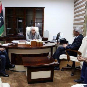 «جلاله» يلتقي مدير مكتب المفوضية السامية للأمم المتحدة لشؤون اللاجئين