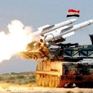 الدفاعات الجوية السورية تتصدى بعنف لغارات القوات الإسرائيلية
