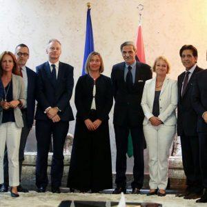 موغريني: نولي أهمية كبيرة للتعاون مع ليبيا في شتى المجالات وخاصةً الاقتصادية
