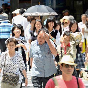 اليابان.. مقتل 14 شخص بسبب موجة الحر