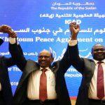سلفاكير يتقاسم السلطة مع المتمردين في جنوب السودان!!