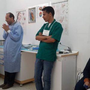 بنغازي.. تدريب مجموعة جديدة من أطباء الأسنان في أساسيات جراحة الفم
