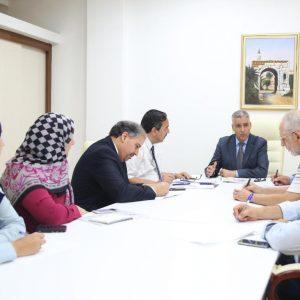 أمين عام مجلس الوزراء يلتقي مدير عام مركز تطوير النظام الصحي