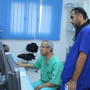 نجاح «26» عملية قسطرة قلبيه بطبي طبرق