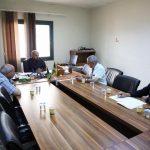 «التفتيش والمتابعة» تجتمع مع مدير مستشفى «أبي ستة» للأمراض الصدرية