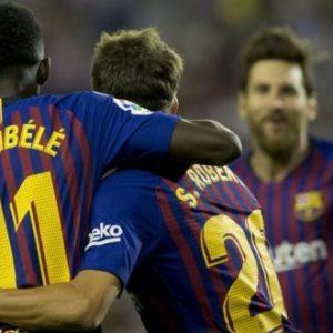 هدف يتيم يُعطي انتصاراً صعباً لبرشلونة أمام مُضيفه بلد الوليد