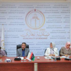 بنغازي..  اجتماع موسع بشأن الحد من التعدى على المخطط العمراني