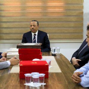 وزارة المالية والتخطيط التابعة للمؤقتة تسلم الحساب الختامي للدولة للعام 2017